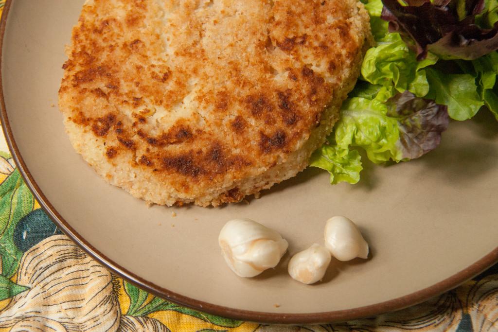 wild garlic potato pancakes