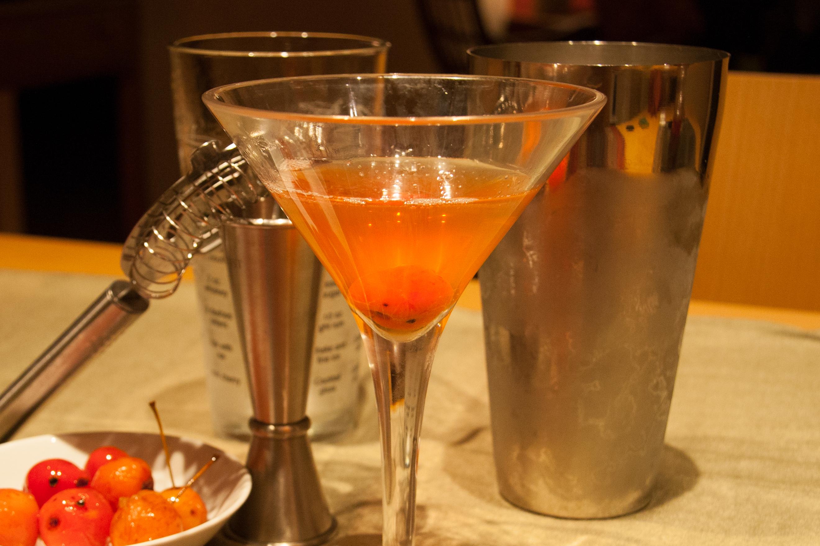 Crabapples & Bourbon: The Kentucky Belle Cocktail