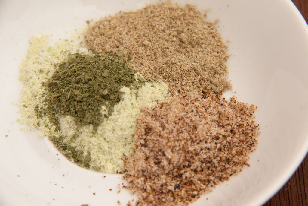 foraged dry rub