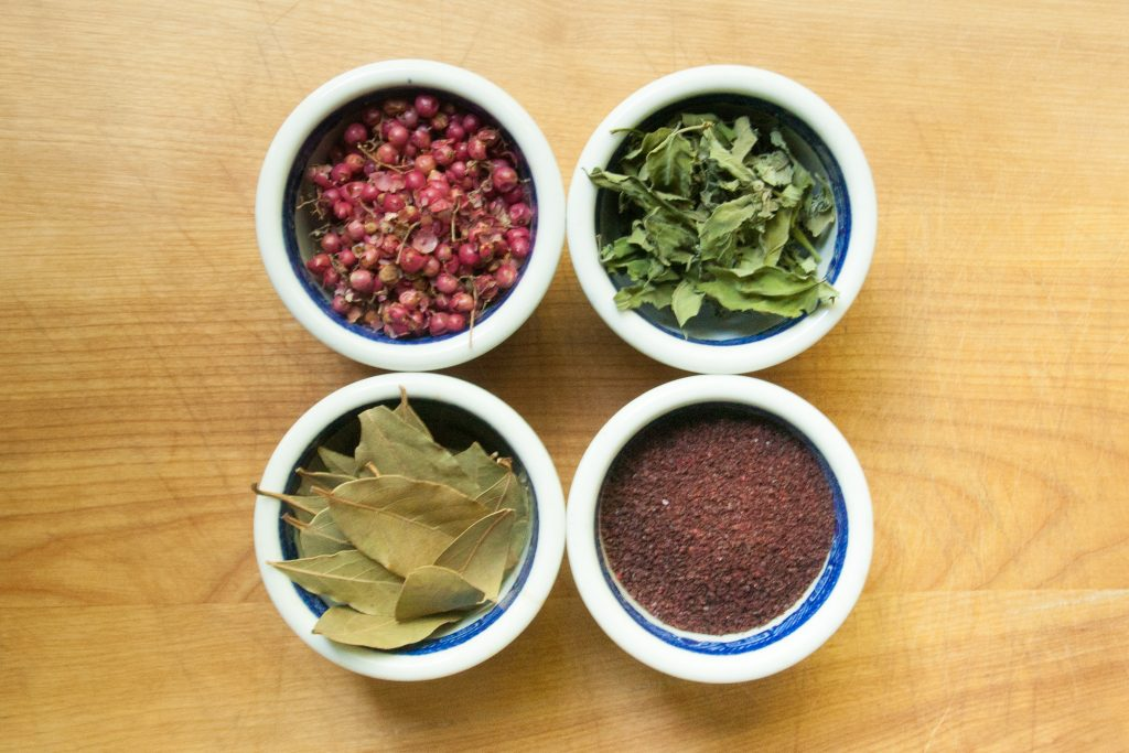 foraged spices
