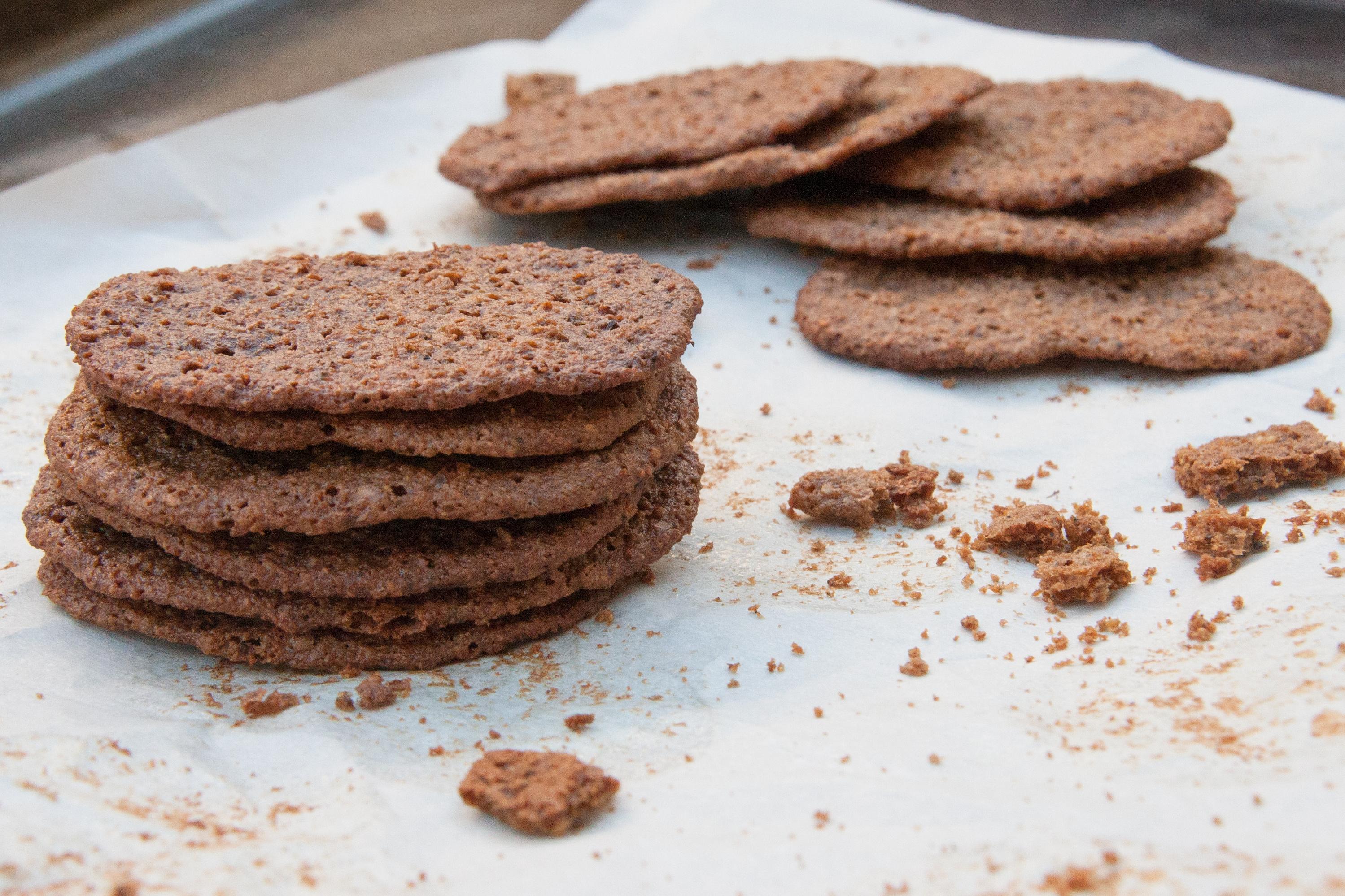 Acorn Flour Wild Ginger Snaps: a Recipe