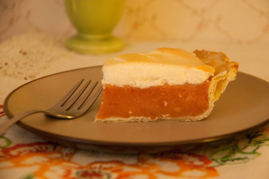 silverberry meringue pie