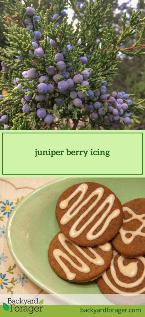 juniper berry icing