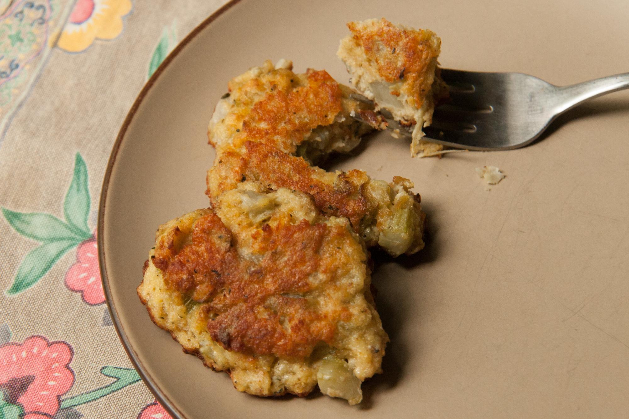 Burdock Flower Stalk Fritters: Recipe